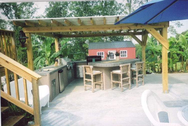custom kitchens at backyard escape in jackson county alabama